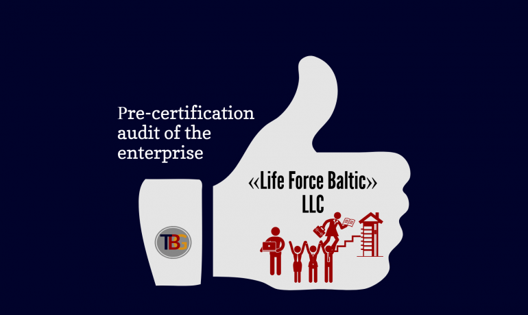 Рre-certification audit of the enterprise
