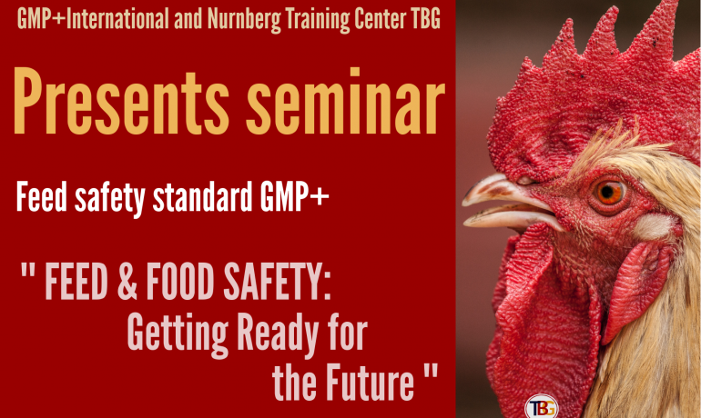 "Seminar "" FEED & FOOD SAFETY: Getting Ready for the Future"" in Moscow"