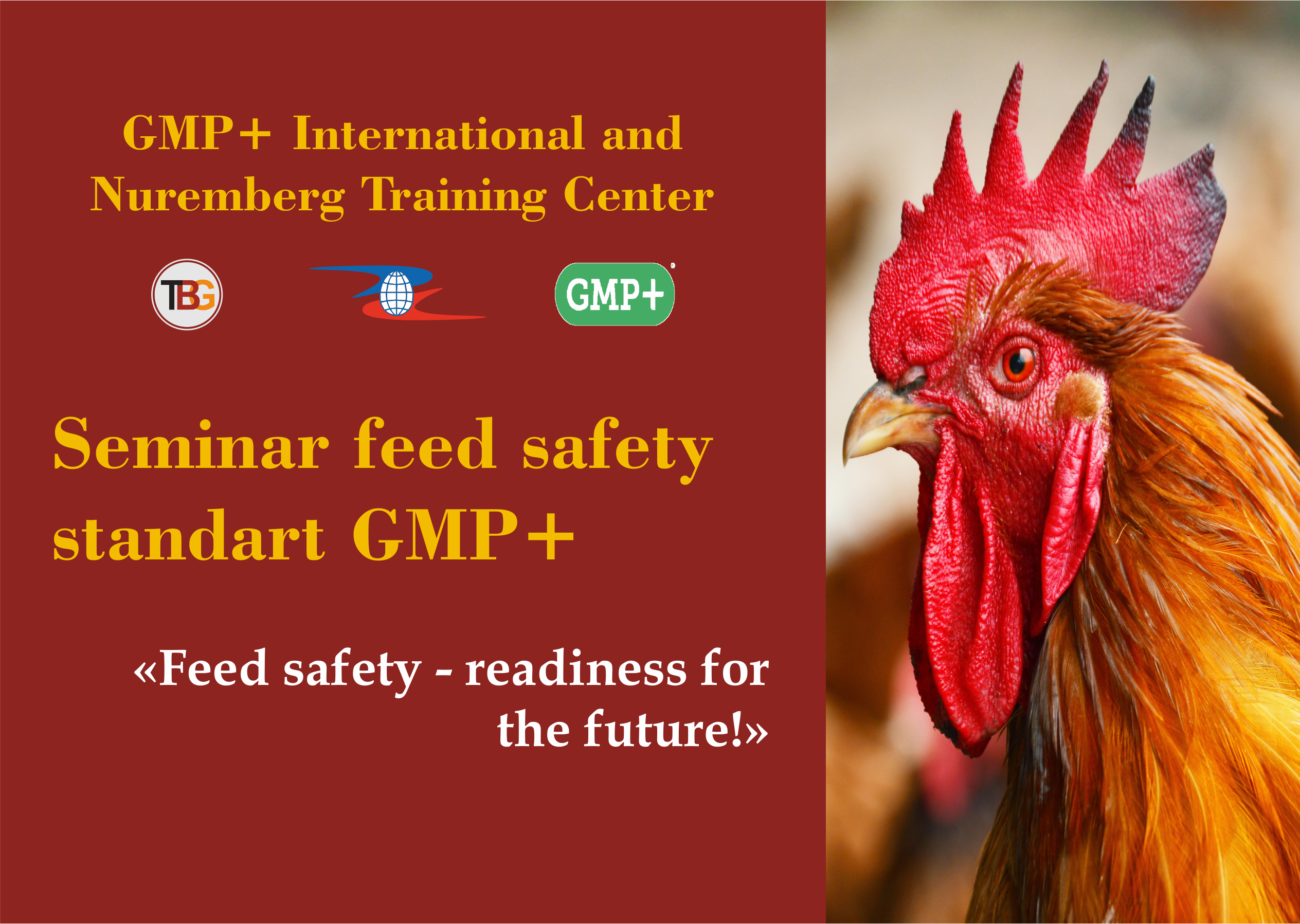Seminar feed safety standart GMP+